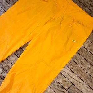 Nike Orange Cropped Pants